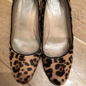 JCrew leopard shoe